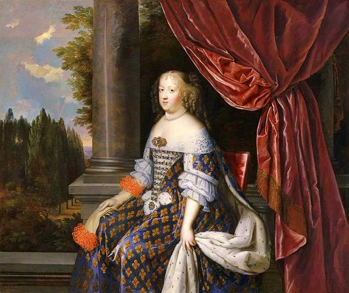 NOCRET, Jean as Queen of France oil painting image