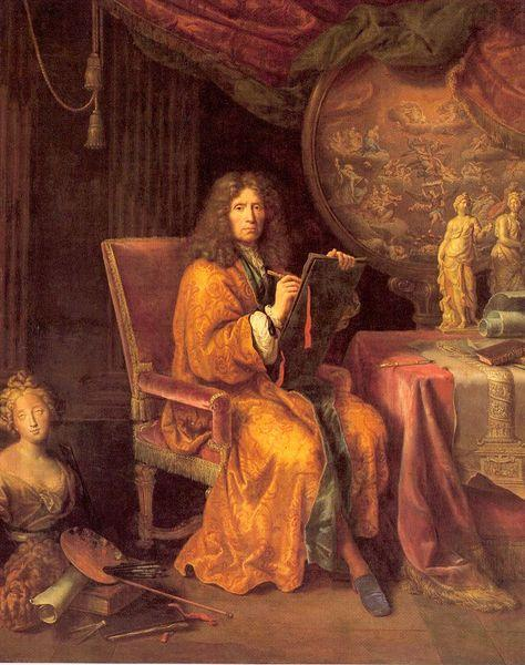 Pierre Mignard Self portrait