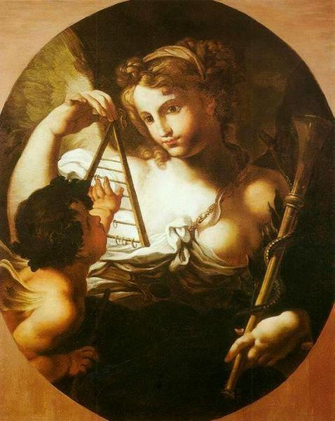 Sebastiano Conca Allegory of Science oil painting image