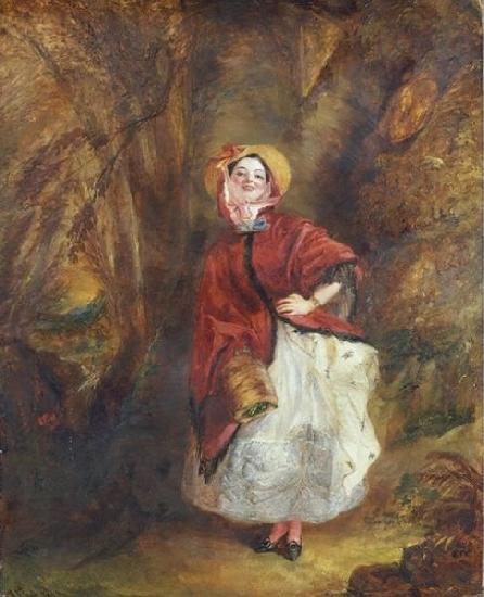 William Powell  Frith Barnaby Rudge oil painting image