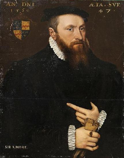 Anthonis Mor Portrait of a Gentleman
