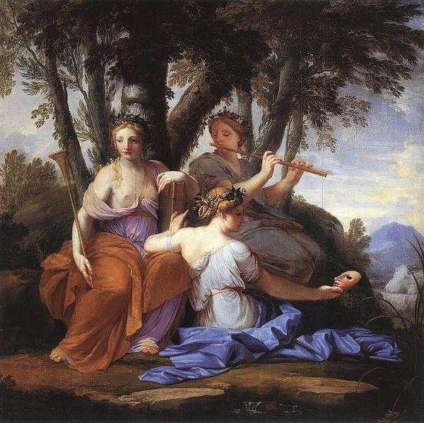 Eustache Le Sueur Euterpe and Thalia