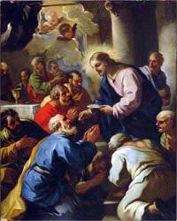 Luca Giordano The Last Supper by Luca Giordano