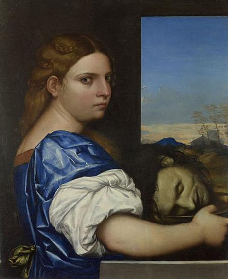 Sebastiano del Piombo The Daughter of Herodias oil painting image