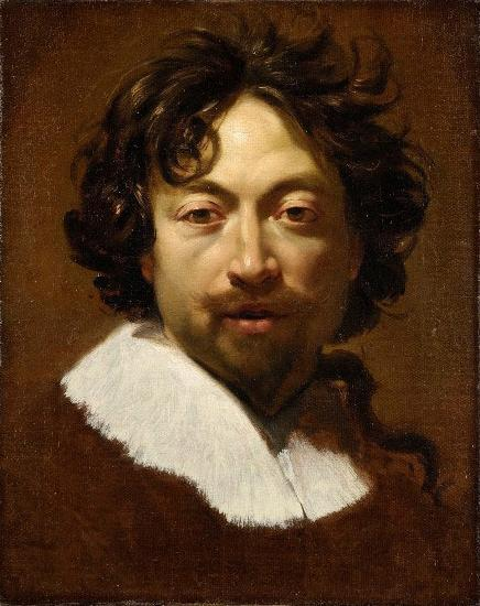 Simon Vouet Self-portrait.