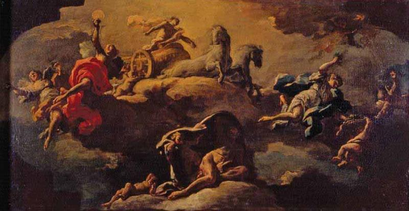 GUERCINO An allegory oil painting image