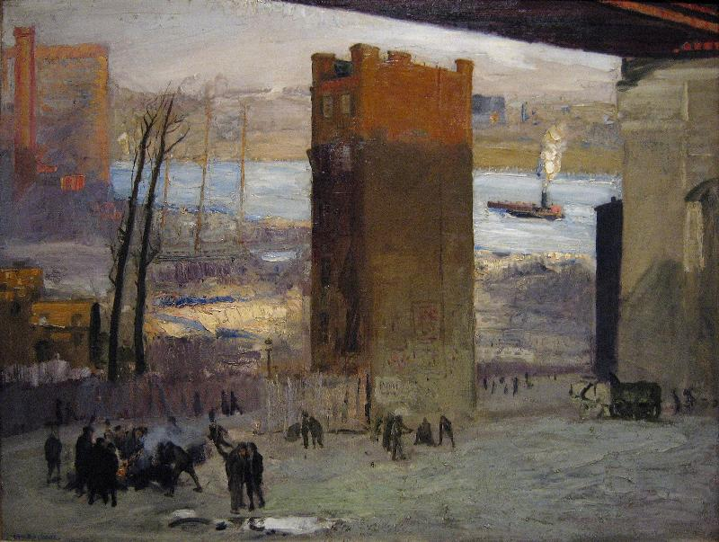 George Bellows The Lone Tenement