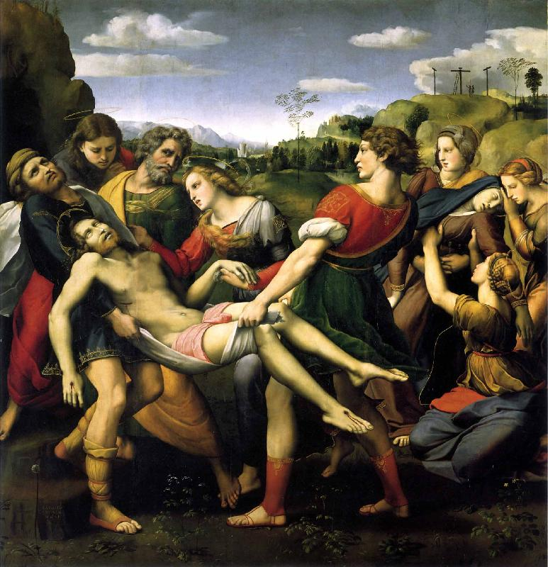 Raphael The Deposition oil painting image