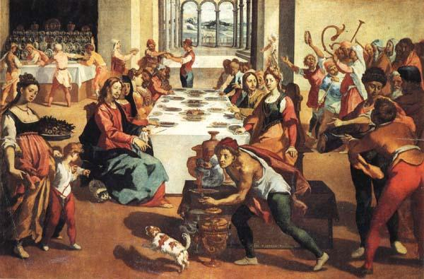 Andrea Boscoli The Marriage at Cana