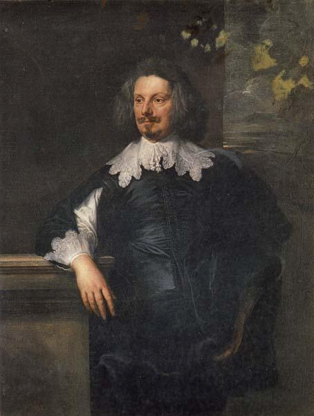 Anthony Van Dyck Portrait of an English Gentleman