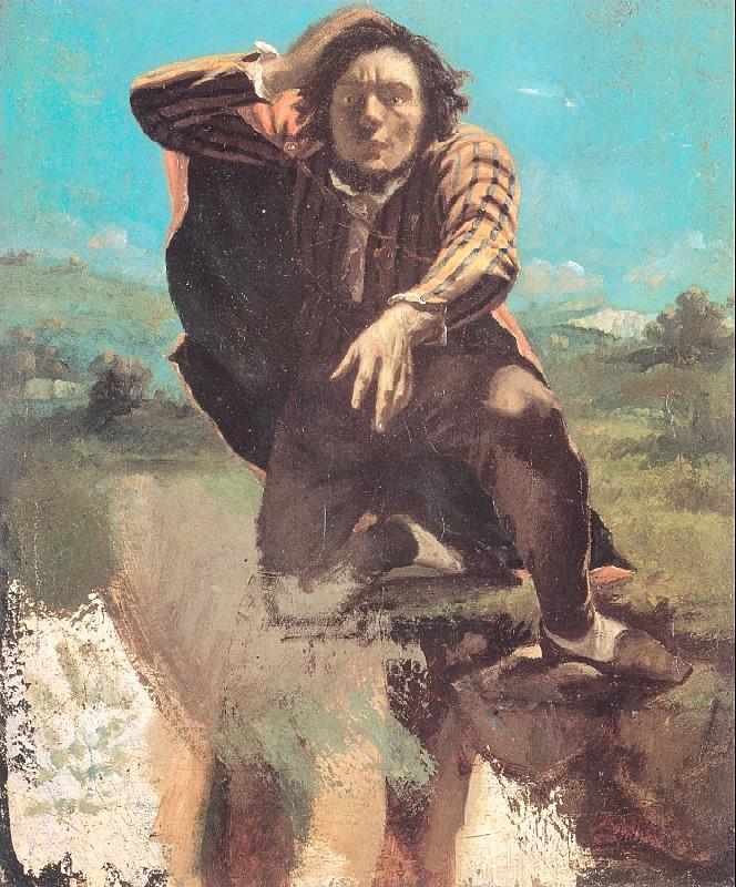 Courbet, Gustave The Desperate Man oil painting image
