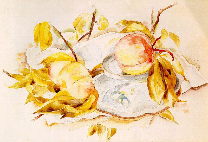 Demuth, Charles Peaches oil painting image