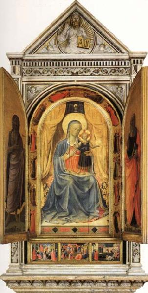 Fra Angelico The Linaioli Tabernacle