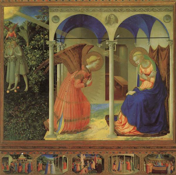 Fra Angelico Altarpiece of the Annunciation