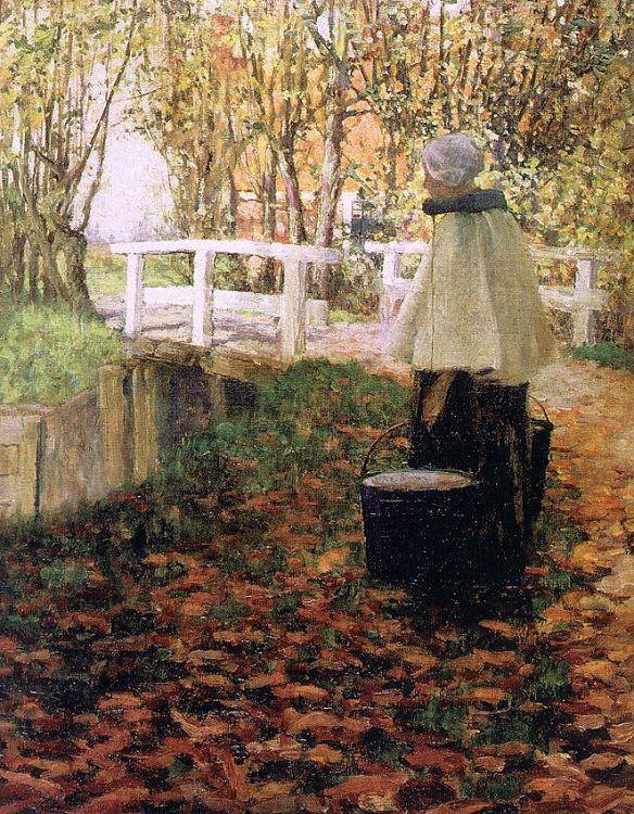 Hitchcock, George The Milkmaid