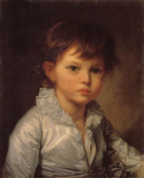 Jean-Baptiste Greuze Count P.A Stroganov as a Child oil painting image