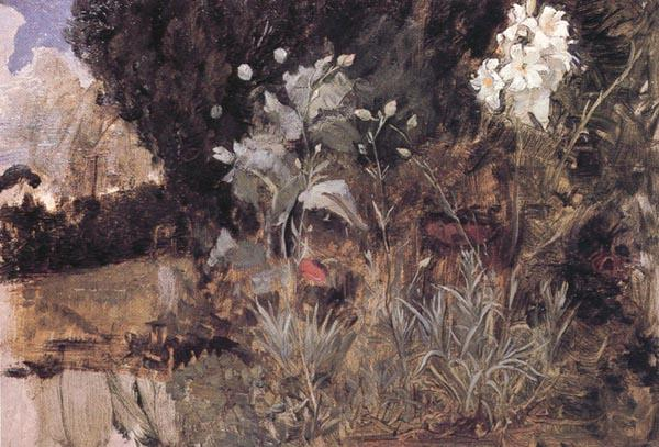 John William Waterhouse The Enchanted Garden
