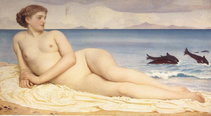 Lord Frederic Leighton Actaea Tje Mu,[j pf the Shore