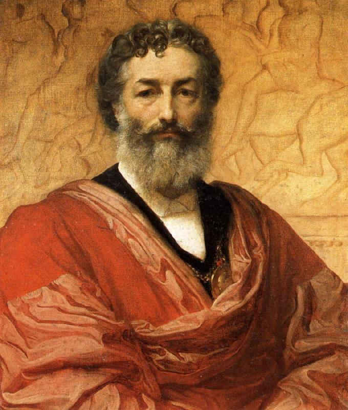 Lord Frederic Leighton Self-Portrait