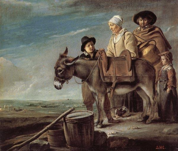 Louis Le Nain The Milkmaid's Family oil painting image