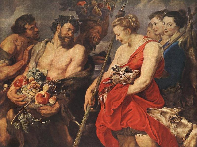 RUBENS, Pieter Pauwel Diana Returning from Hunt oil painting image