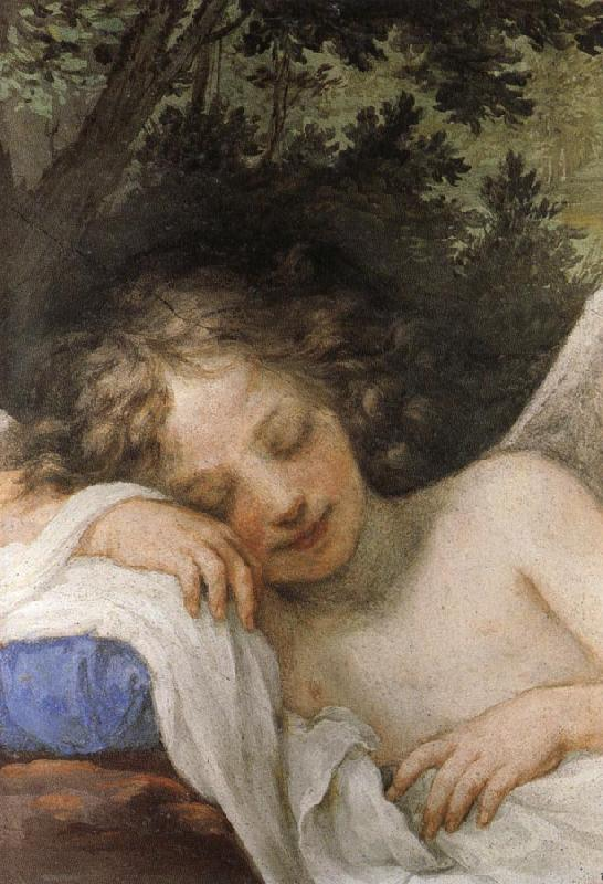 Volterrano Sleeping Cupid oil painting image