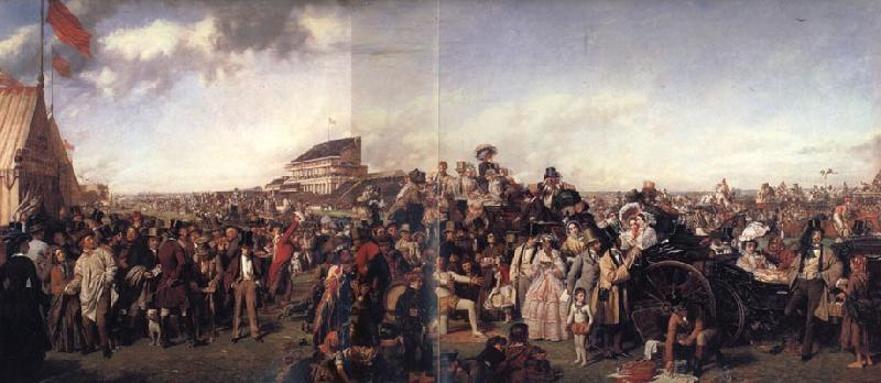 William Powell  Frith Derby Day oil painting image