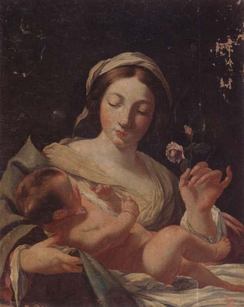 unknow artist The madonna of the rose