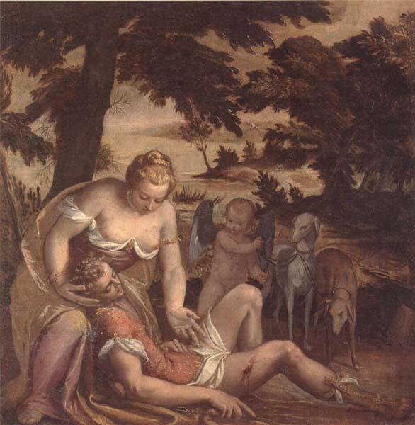 unknow artist The Death of adonis