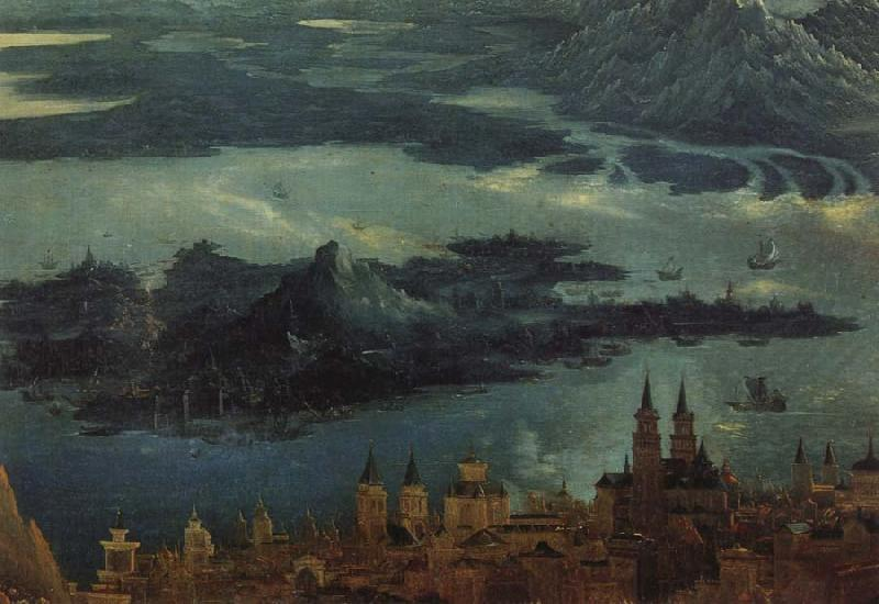 Albrecht Altdorfer Details of The Battle of Issus oil painting image