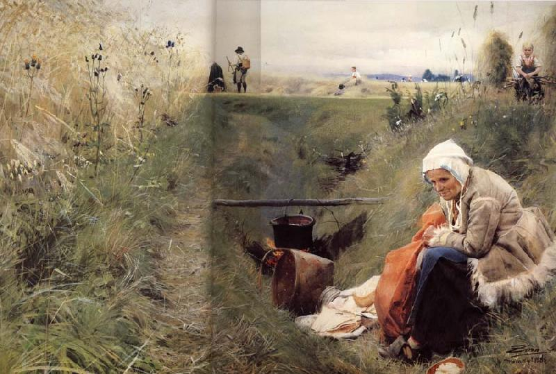 Anders Zorn Our Daily Bread oil painting image
