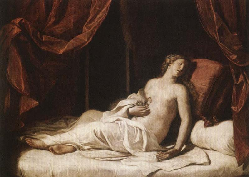 GUERCINO The Dying Cleopatra oil painting image