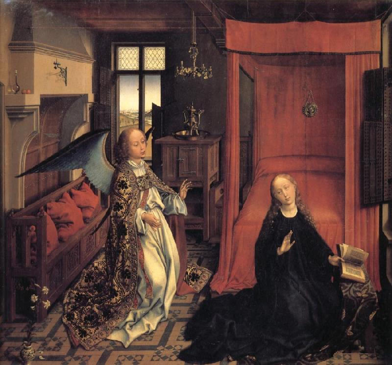 Roger Van Der Weyden The Annunciation oil painting image