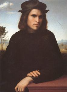 FRANCIABIGIO Portrait of a Man (mk05) oil painting image