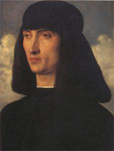 Giovanni Bellini Portrait of a Man (mk05) oil painting image