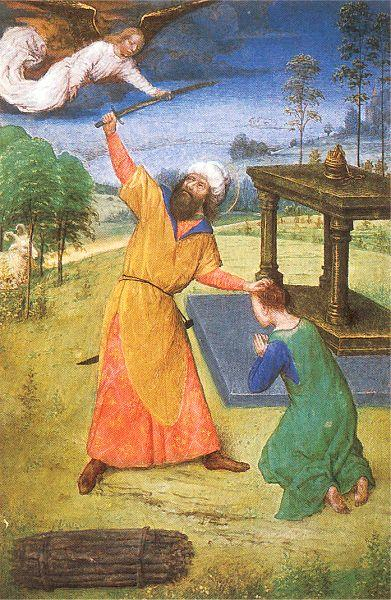 Marmion, Simon The Sacrifice of Isaac oil painting image