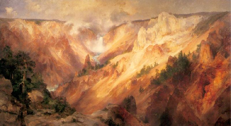 Moran, Thomas The Grand Canyon of the Yellowstone oil painting image