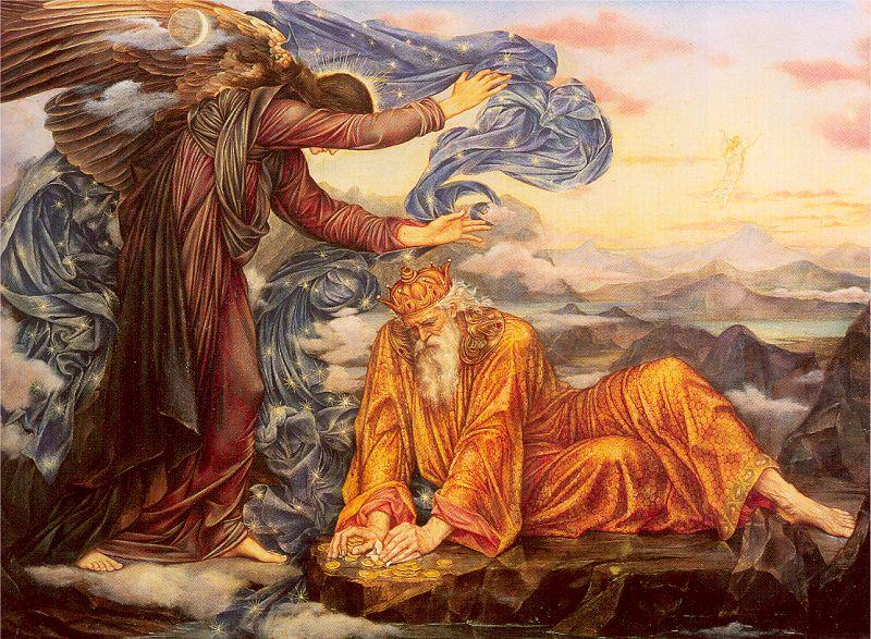 Morgan, Evelyn De Earthbound oil painting image
