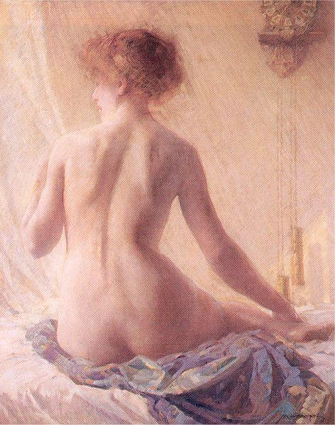 Mulhaupt, Frederick John The Morning Hour oil painting image