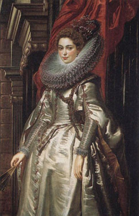 Peter Paul Rubens Portrait of the Marchesa Brigide Spinola-Doria (mk01) oil painting image