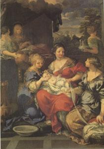 Pietro da Cortona Nativity of the Virgin (mk05) oil painting image