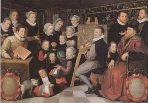 VEEN, Otto van Surrounded by His Household (mk05) oil painting image