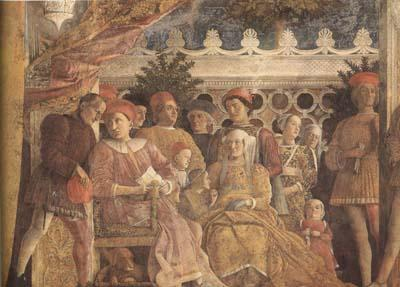 Andrea Mantegna The Gonzaga Family and Retinue finished (mk080 oil painting image