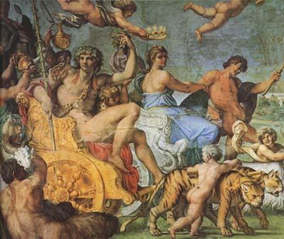 Annibale Carracci Triumph of Bacchus and Ariadne (mk08) oil painting image