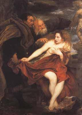 Anthony Van Dyck Susanna and The Elders (mk03)