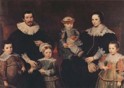 Cornelis de Vos The Family of the Artist (mk08) oil painting image