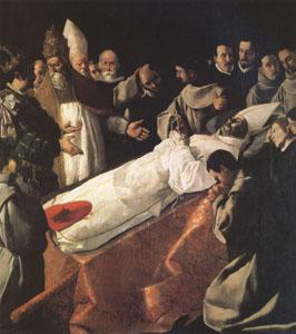 Francisco de Zurbaran The Lying-in-State of St Bonaventure (mk05) oil painting image