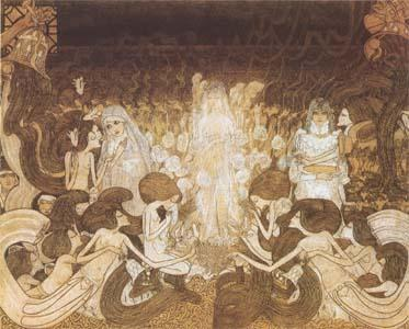 Jan Toorop The Three Brides (mk09)
