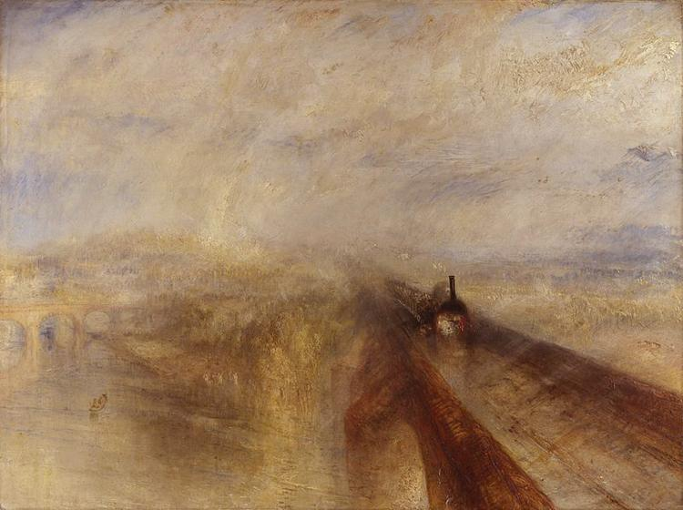 Joseph Mallord William Turner Rain,Steam and Speed,The Great Western Railway (mk10) oil painting image