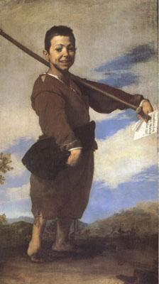 Jusepe de Ribera The Beggar Known as the Club-foot (mk05)